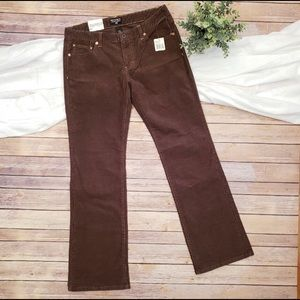 Ralph Lauren Brown stretch Corduroys jeans size 8